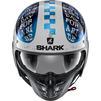 Shark S-Drak 2 Tripp In Open Face Motorcycle Helmet & Visor Thumbnail 8