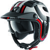Shark X-Drak 2 Thrust R Open Face Motorcycle Helmet Thumbnail 3