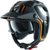 Shark X-Drak 2 Thrust R Open Face Motorcycle Helmet & Visor Thumbnail 7