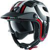 Shark X-Drak 2 Thrust R Open Face Motorcycle Helmet & Visor Thumbnail 4