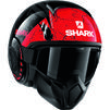 Shark Street-Drak Crower Open Face Motorcycle Helmet Thumbnail 10