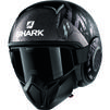 Shark Street-Drak Crower Open Face Motorcycle Helmet Thumbnail 5