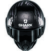 Shark Street-Drak Crower Open Face Motorcycle Helmet Thumbnail 8