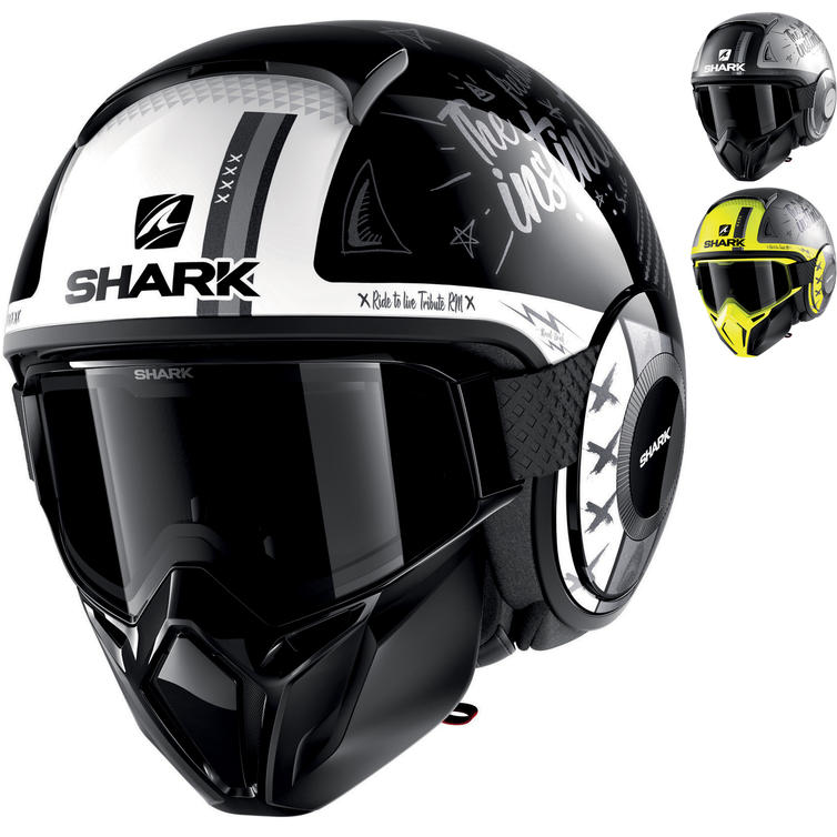 Shark Street-Drak Tribute RM Open Face Motorcycle Helmet