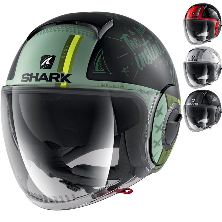 Shark Nano Tribute RM Open Face Motorcycle Helmet