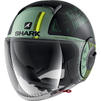 Shark Nano Tribute RM Open Face Motorcycle Helmet Thumbnail 3