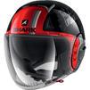 Shark Nano Tribute RM Open Face Motorcycle Helmet & Visor Thumbnail 5
