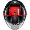 Shark Nano Tribute RM Open Face Motorcycle Helmet & Visor Thumbnail 9