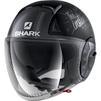 Shark Nano Tribute RM Open Face Motorcycle Helmet & Visor Thumbnail 6