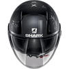 Shark Nano Tribute RM Open Face Motorcycle Helmet & Visor Thumbnail 10