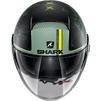Shark Nano Tribute RM Open Face Motorcycle Helmet & Visor Thumbnail 11