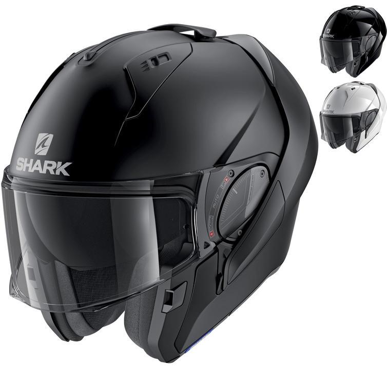 Shark Evo-ES Blank Flip Front Motorcycle Helmet