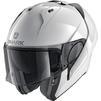 Shark Evo-ES Blank Flip Front Motorcycle Helmet Thumbnail 5