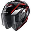 Shark Evo-ES Yari Flip Front Motorcycle Helmet & Visor Thumbnail 6