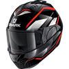 Shark Evo-ES Yari Flip Front Motorcycle Helmet & Visor Thumbnail 11