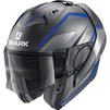 Shark Evo-ES Yari Flip Front Motorcycle Helmet & Visor Thumbnail 4