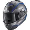 Shark Evo-ES Yari Flip Front Motorcycle Helmet & Visor Thumbnail 9