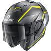 Shark Evo-ES Yari Flip Front Motorcycle Helmet & Visor Thumbnail 7