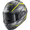 Shark Evo-ES Yari Flip Front Motorcycle Helmet & Visor Thumbnail 12