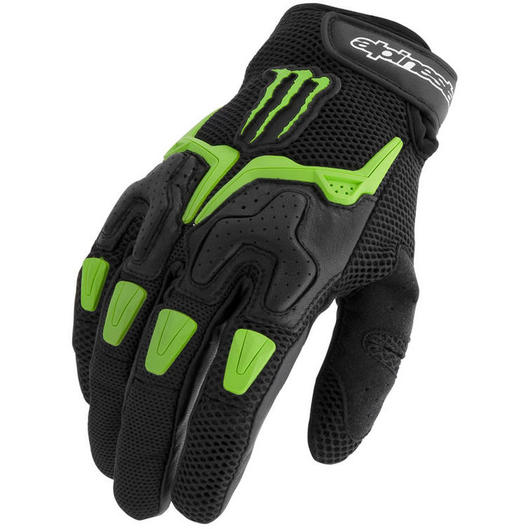 Alpine Motorcycle Gear >> Alpinestars M20 Air Monster Energy Motorcycle Gloves - Alpinestars - Ghostbikes.com
