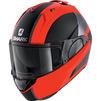 Shark Evo-ES Endless Flip Front Motorcycle Helmet & Visor Thumbnail 11