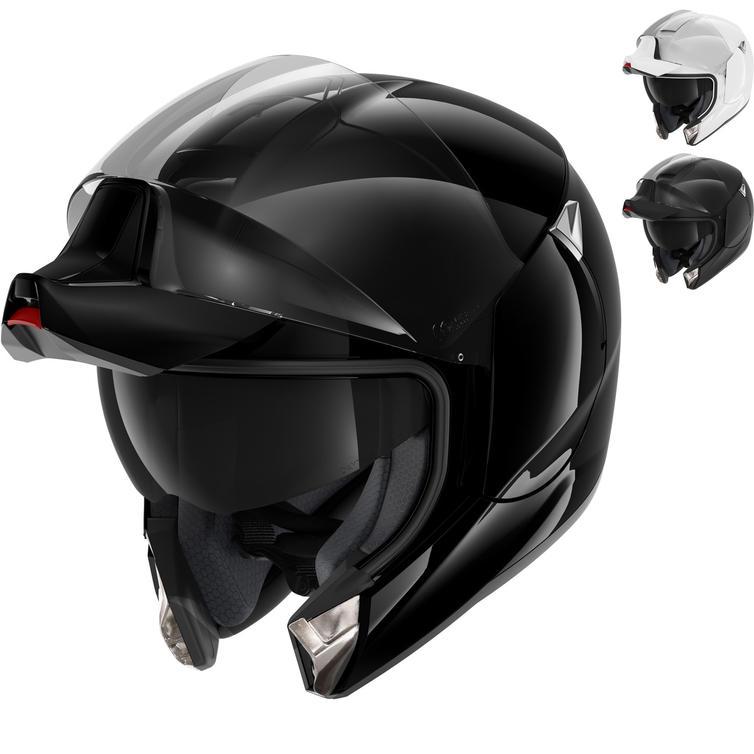 Shark EvoJet Blank Flip Front Motorcycle Helmet