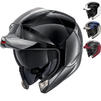 Shark EvoJet Dual Blank Flip Front Motorcycle Helmet Thumbnail 1