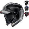 Shark EvoJet Dual Blank Flip Front Motorcycle Helmet Thumbnail 2