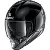 Shark EvoJet Dual Blank Flip Front Motorcycle Helmet & Visor Thumbnail 11
