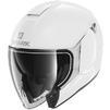 Shark City Cruiser Blank Open Face Motorcycle Helmet & Visor Thumbnail 4