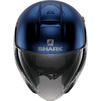 Shark City Cruiser Dual Blank Open Face Motorcycle Helmet & Visor Thumbnail 8