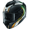 Shark Spartan GT Carbon Tracker Motorcycle Helmet Thumbnail 3
