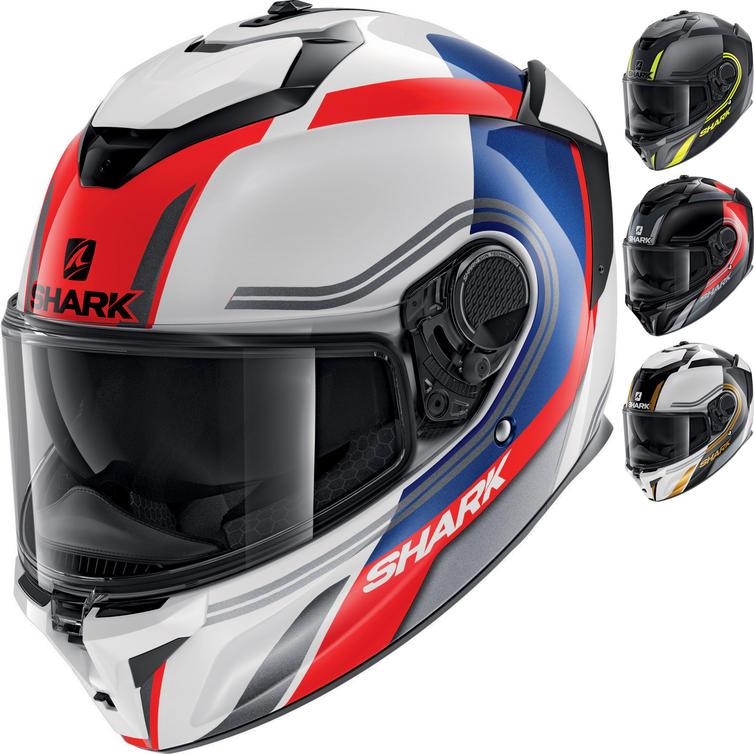 Shark Spartan GT Tracker Motorcycle Helmet
