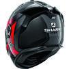 Shark Spartan GT Carbon Shestter Motorcycle Helmet & Visor Thumbnail 11