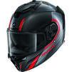 Shark Spartan GT Carbon Tracker Motorcycle Helmet & Visor Thumbnail 6