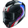Shark Spartan GT Carbon Tracker Motorcycle Helmet & Visor Thumbnail 4