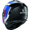 Shark Spartan GT Carbon Tracker Motorcycle Helmet & Visor Thumbnail 12