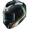Shark Spartan GT Carbon Tracker Motorcycle Helmet & Visor Thumbnail 5