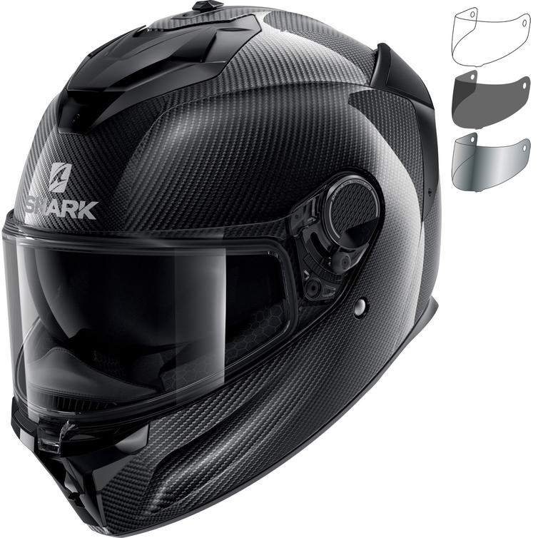 Shark Spartan GT Carbon Skin Motorcycle Helmet & Visor