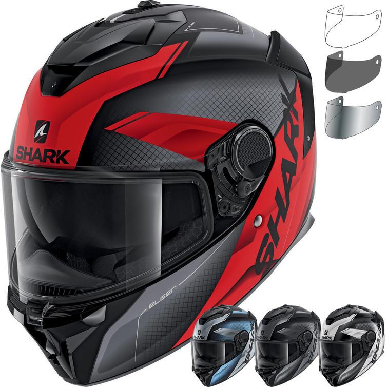 Shark Spartan GT Elgen Motorcycle Helmet & Visor