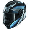 Shark Spartan GT Elgen Motorcycle Helmet & Visor Thumbnail 7