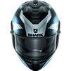 Shark Spartan GT Elgen Motorcycle Helmet & Visor Thumbnail 11