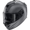 Shark Spartan GT Blank Motorcycle Helmet & Visor