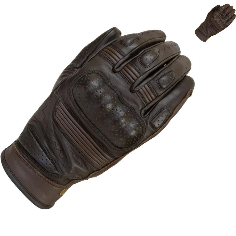 Merlin Thirsk Leather Motorcycle Gloves