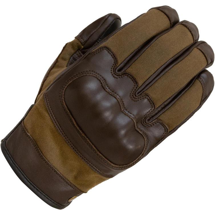 Merlin Glenn Leather Motorcycle Gloves