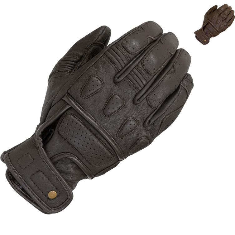 Merlin Finlay Leather Motorcycle Gloves