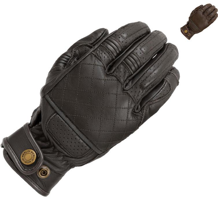Merlin Stewart Leather Motorcycle Gloves