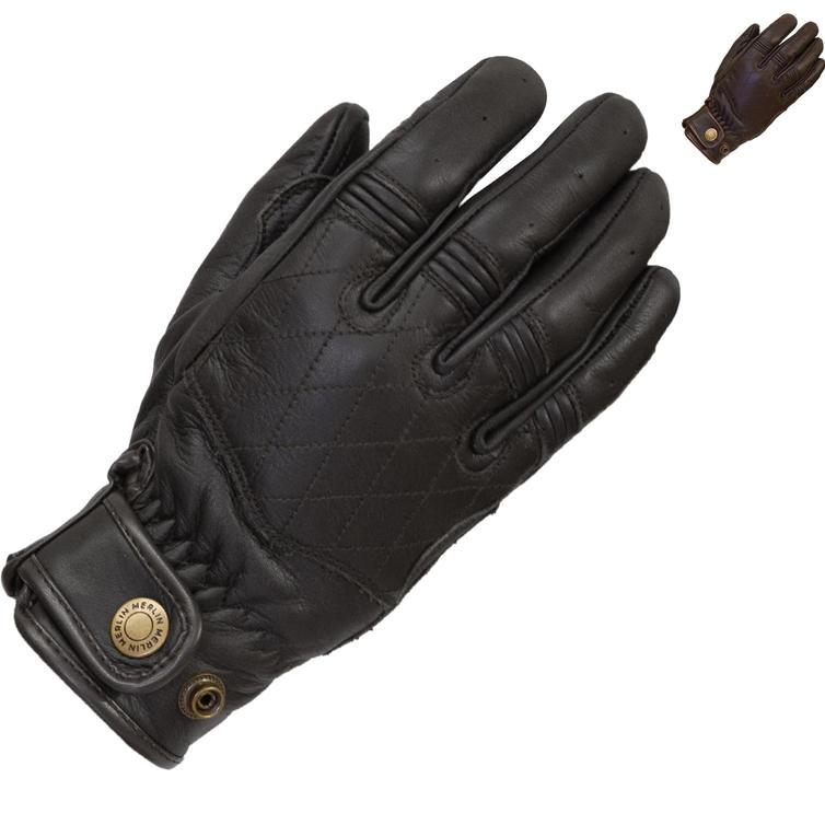 Merlin Skye Ladies Leather Motorcycle Gloves