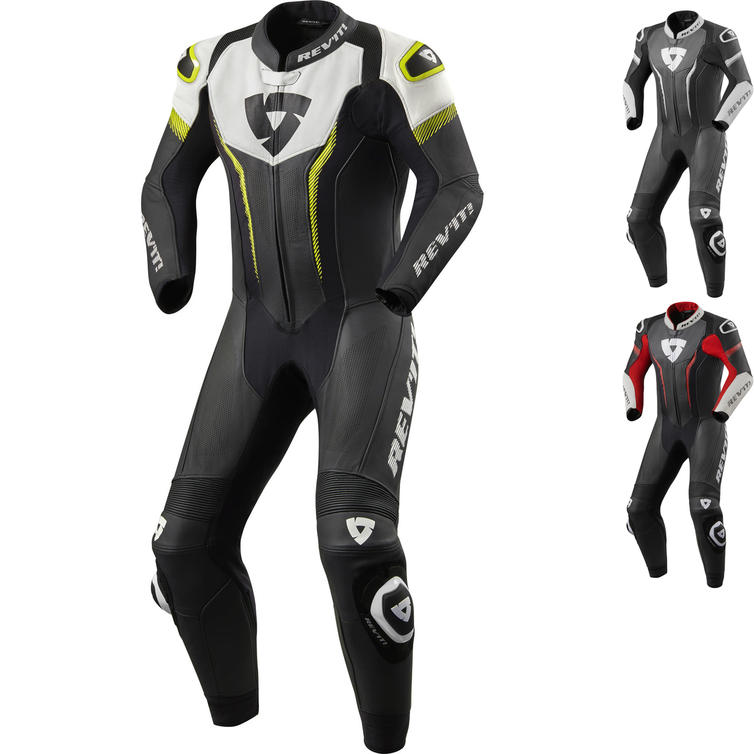Rev It Argon One Piece Leather Motorcycle Suit
