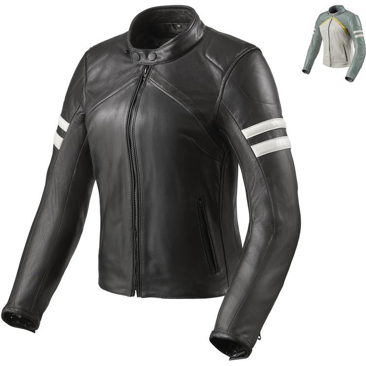 Rev It Meridian Ladies Leather Motorcycle Jacket